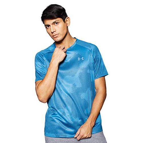 Men's Tech 2.0 Short Sleeve Printed T-Shirt, Navy, swatch