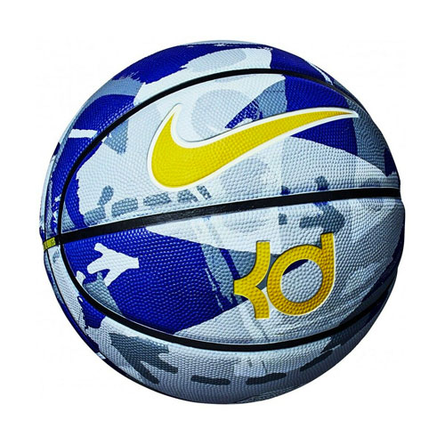 KD Official Basketball, Blue/Gray, swatch