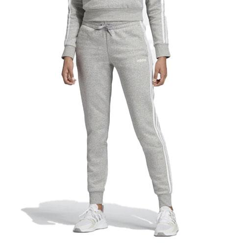 Women's Essentials 3-Stripes Jogger, Heather Gray, swatch