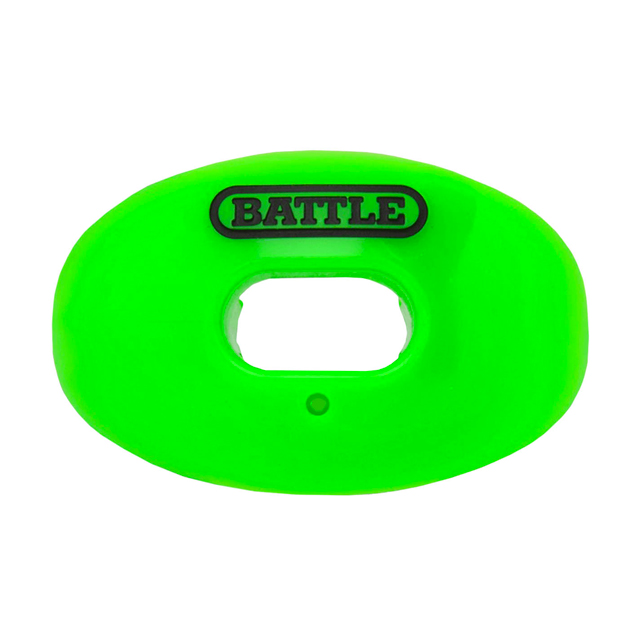 Oxygen Lip Protector Mouthguard, Neon Green, swatch