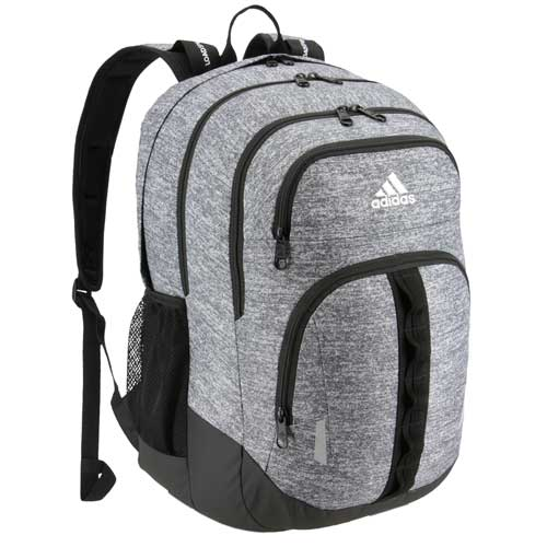 Prime V Backpack, Heather Gray, swatch
