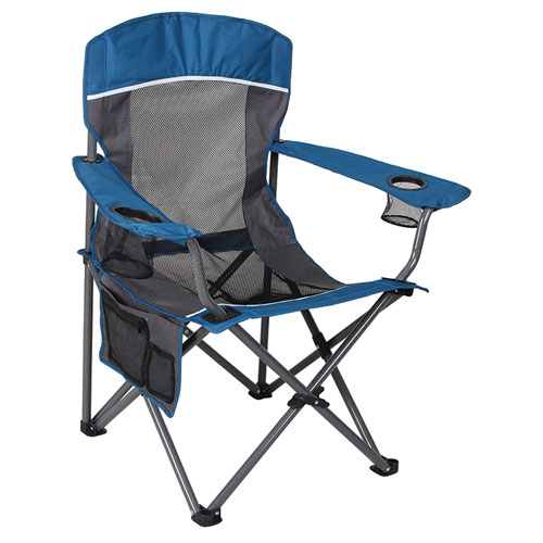 Mesh Big Boy Chair, Blue/Gray, swatch