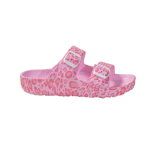 Girls' Printed EVA Sandal, Pink, swatch