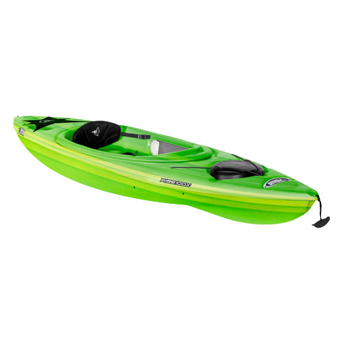 Rise 100x Fade Sit-in Kayak, Lime, swatch