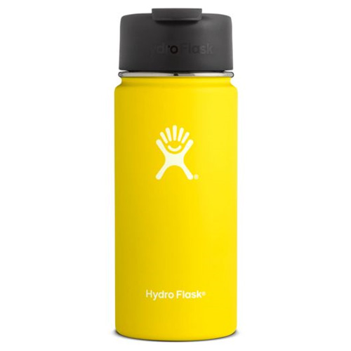 16 Oz Wide Mouth Water Bottle, Gold, Yellow, swatch