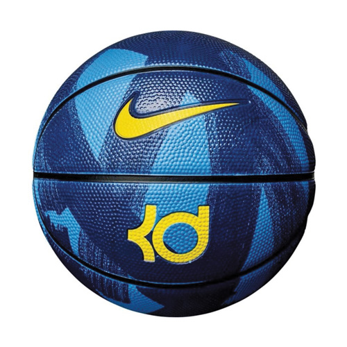 KD Official Basketball, Blue/Yellow, swatch