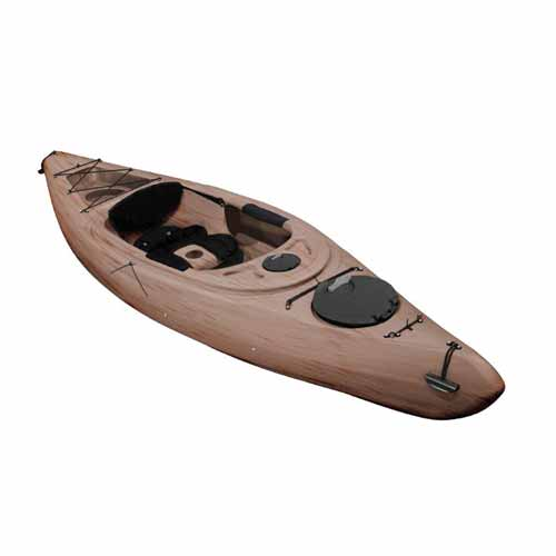 Voyager Deluxe Sit-In Angler Kayak, Sand, swatch