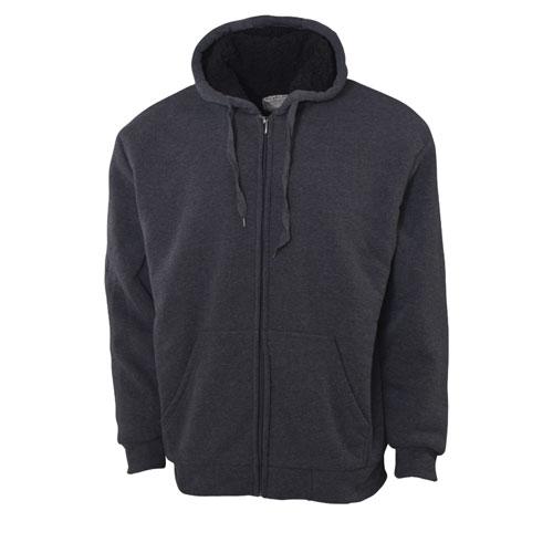 Men's Sherpa Hoodies, Charcoal,Smoke,Steel, swatch