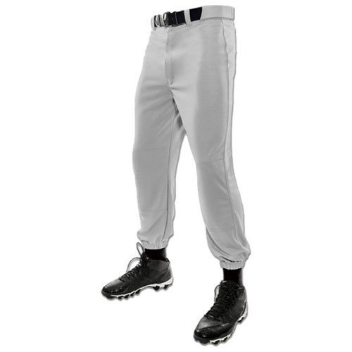 Youth Tunnel Belt Loop Baseball Pant, Gray, swatch