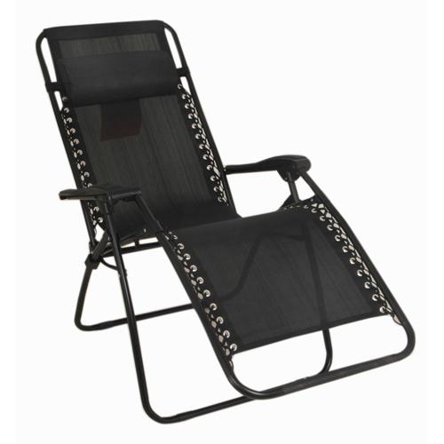 Zero Gravity Chair, Black, swatch
