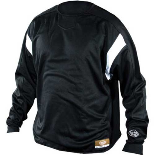 Adult Dugout Pullover, Black, swatch