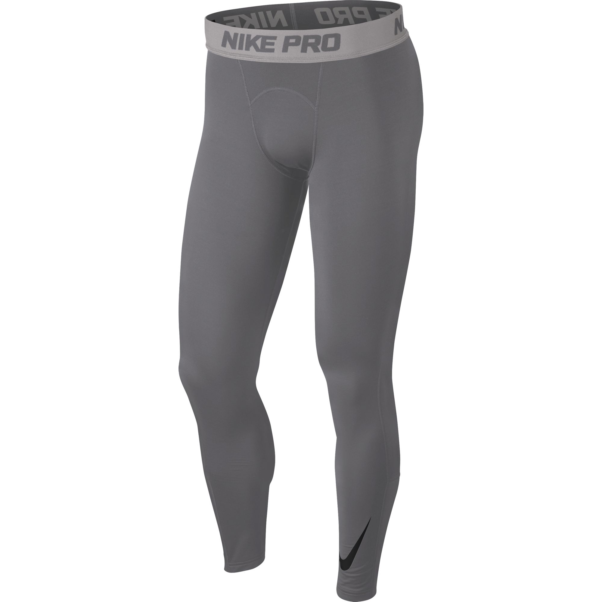 Men's Pro Dri-FIT Therma Tight, Heather Gray, swatch