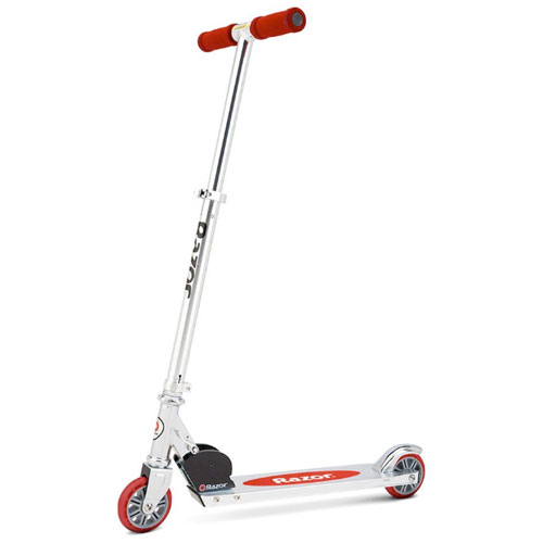 Razor A Scooter, Red, swatch