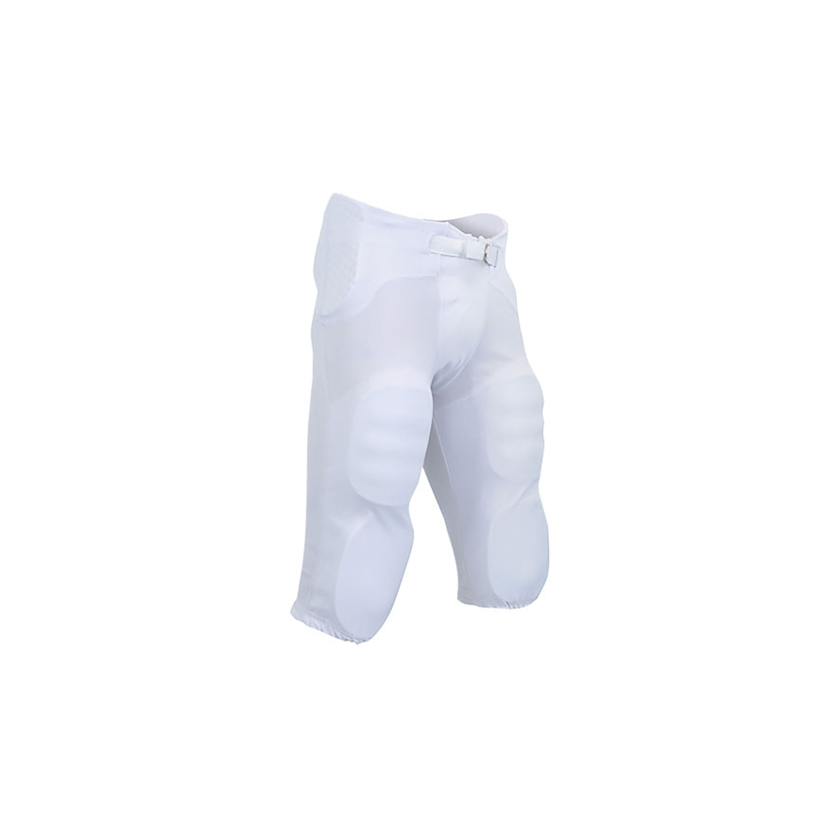 Youth Saftey Integrated Pant, White, swatch