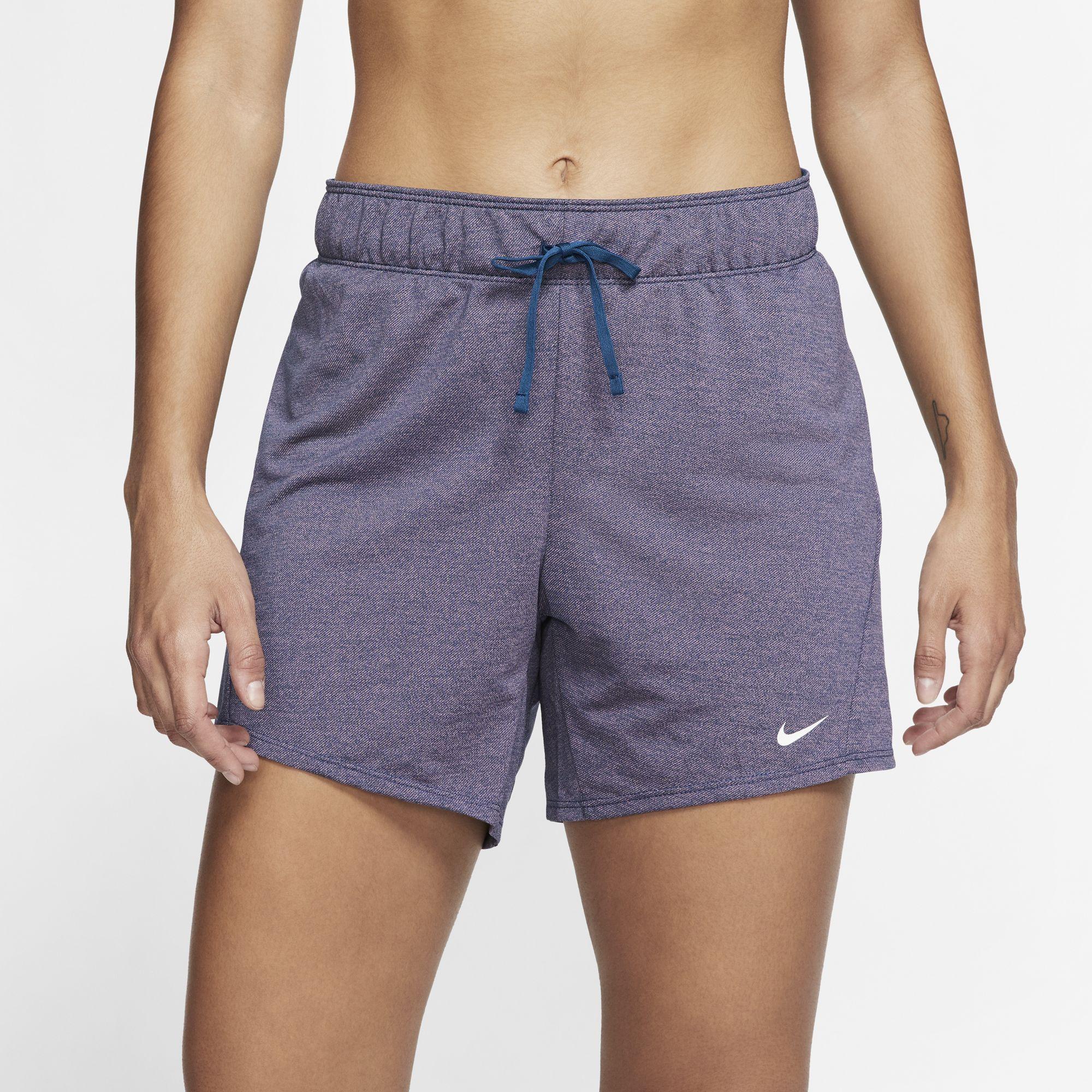 Women's Training Shorts, Navy, swatch