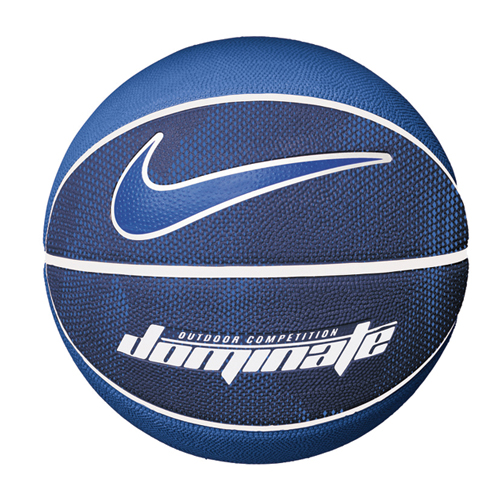 Dominate Official Basketball, Blue/White, swatch