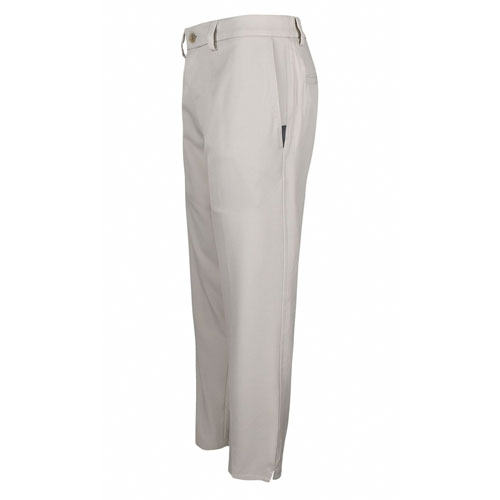 Men's 18 Pro Straight Fit Flat Front Golf Pants, Cream,Natural,Eggshell, swatch