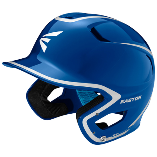 Junior Z5 Grip Two-Tone Batting Helmet, Blue/White, swatch