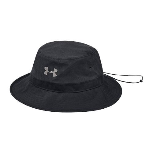ArmourVent Warrior Bucket Hat, Black, swatch