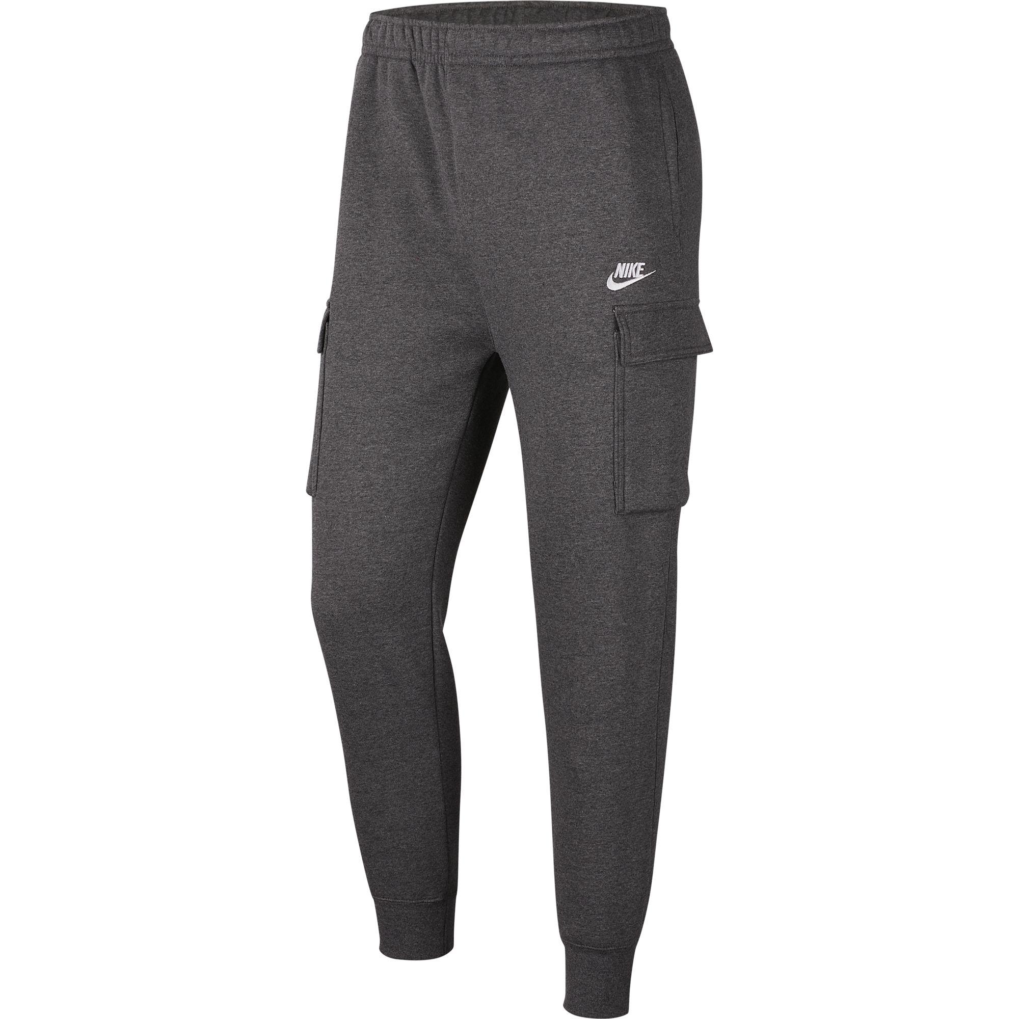 Men's Sportswear Club Fleece Cargo Pant, Charcoal,Smoke,Steel, swatch