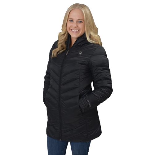Women's Boundless Long Jacket, Black, swatch