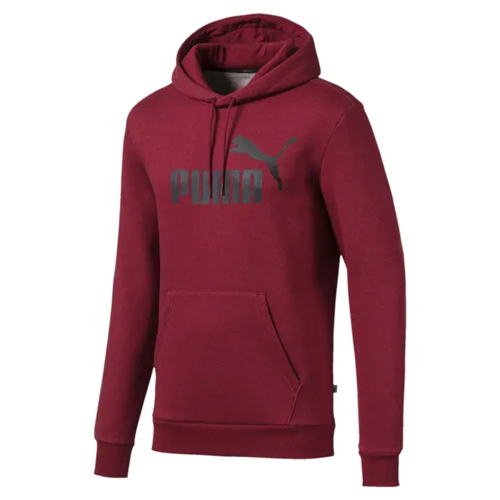 Men's Essentials Fleece Hoodie, Dk Red,Wine,Ruby,Burgandy, swatch