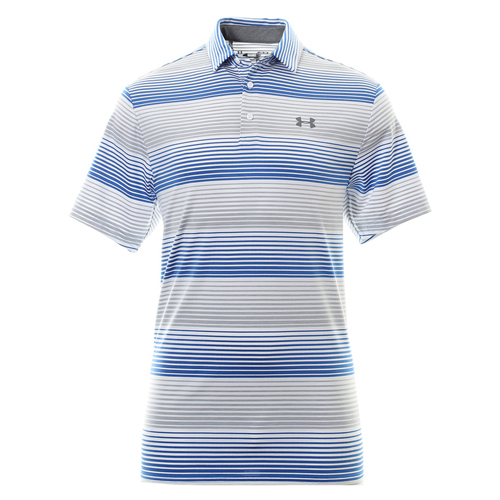 Men's Playoff Golf Polo, White, swatch