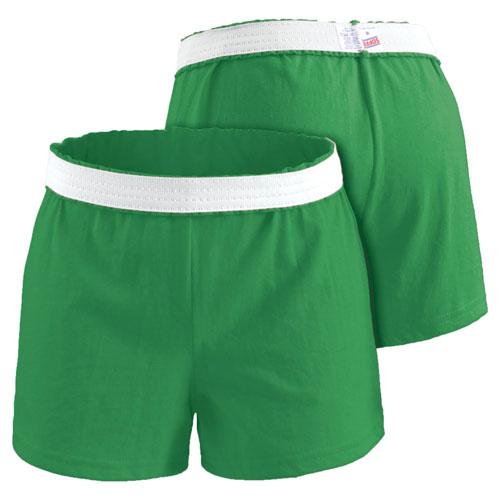 Women's Cheer Shorts, Bright Grn,Kelly,Emerald, swatch