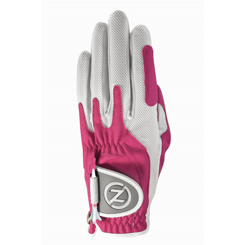 Ladies Left Hand Golf Glove, Pink, swatch