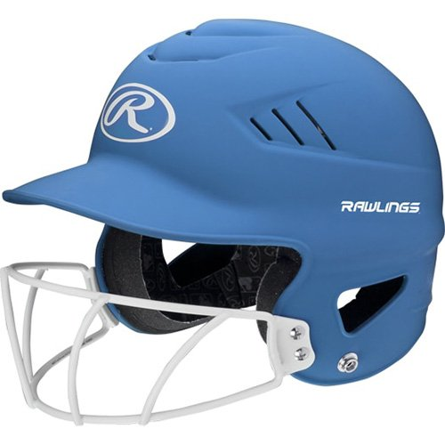 Highlighter Fastpitch Batting Helmet With Mask, Lt Blue,Powder,Sky Blue, swatch