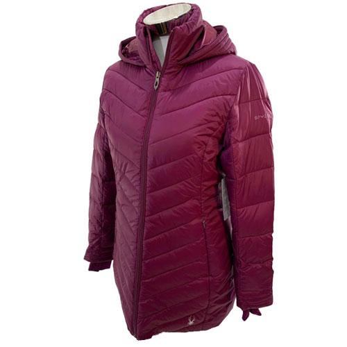 Women's Boundless Long Jacket, Purple, swatch