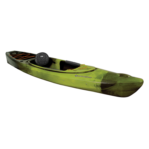 Sound 10.5 Sit-In Angler Kayak, Green/Blk, swatch