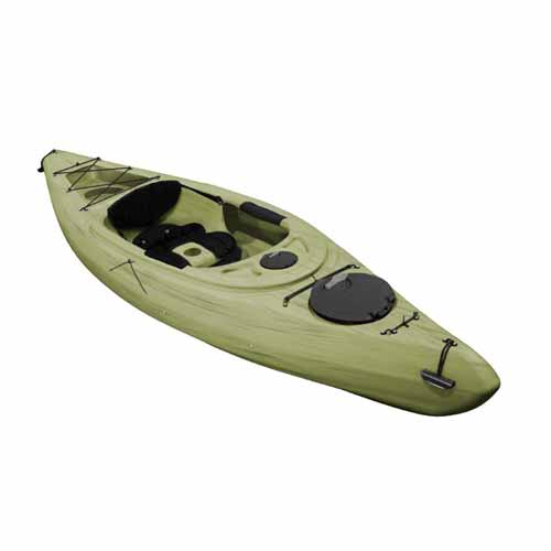 Voyager Deluxe Sit-In Angler Kayak, Seaweed, swatch