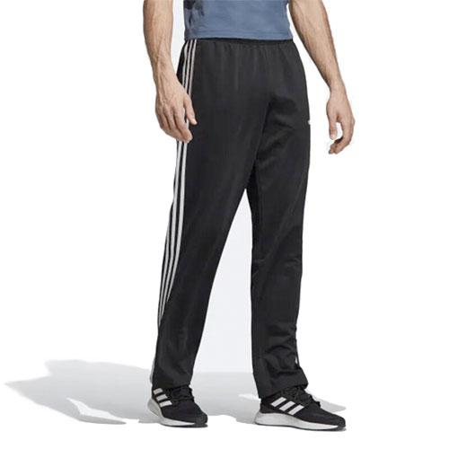 Men's Essentials 3-Stripes Pant, Black/White, swatch