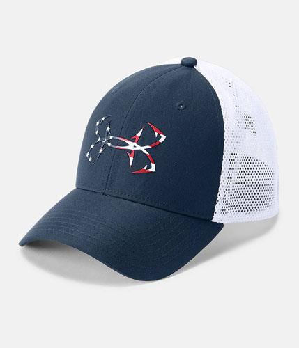 Men's fish hunter cap, Navy, swatch