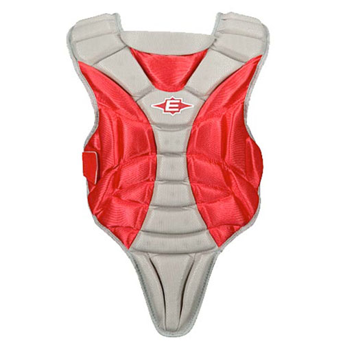 Youth 9-12 Chest Protector, Red, swatch