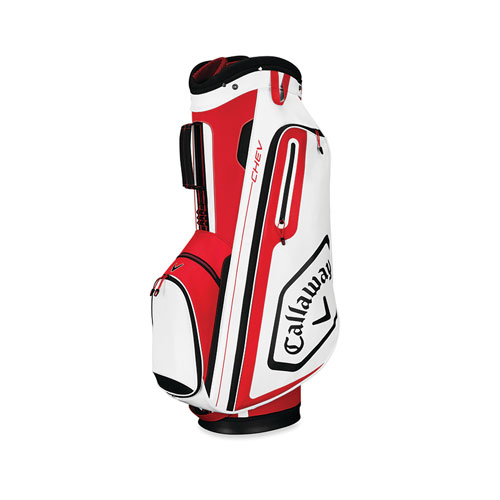 Chev Cart Golf Bag, Red/Black/White, large