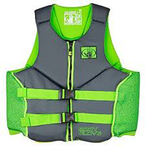 Stealth Neoprene Vest, Green, swatch
