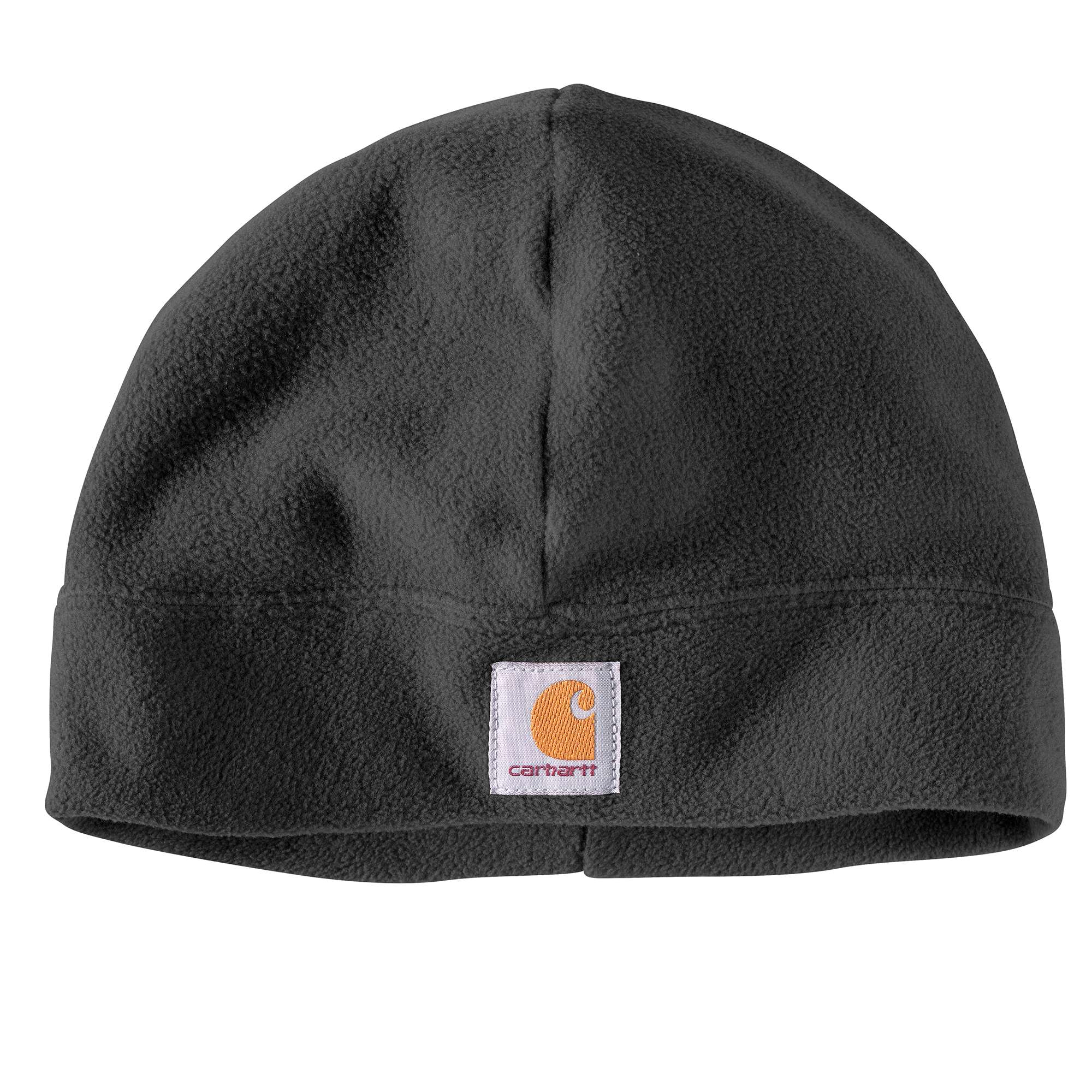 Fleece Beanie, Black, swatch