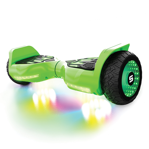 Warrior T580 Hoverboard, Green, swatch