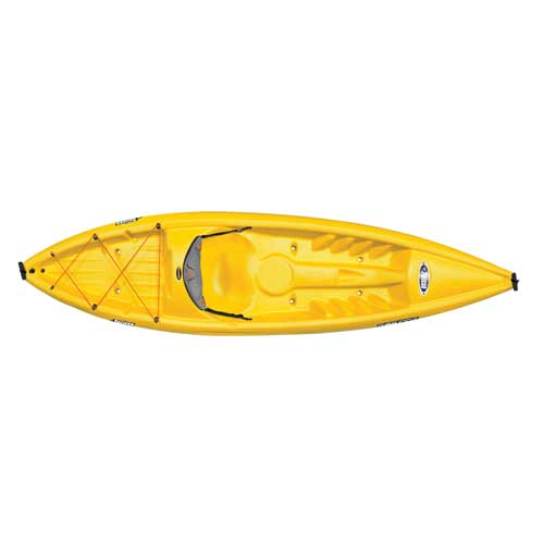 Rise 100X Sit-On-Top Kayak, Gold, Yellow, swatch