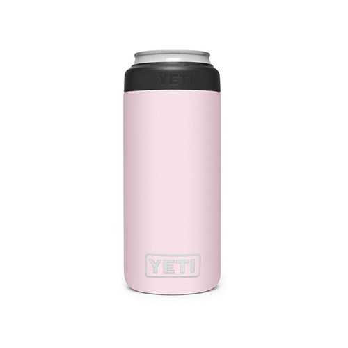 Rambler Colster Slim Can, Pastel Pink,Theatrical, swatch