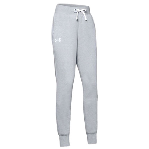 Girls' Rival Joggers, Heather Gray, swatch