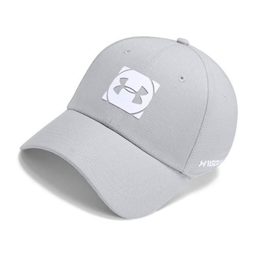 Men's Official Tour Cap 3.0 Golf Cap, Gray/Black, swatch