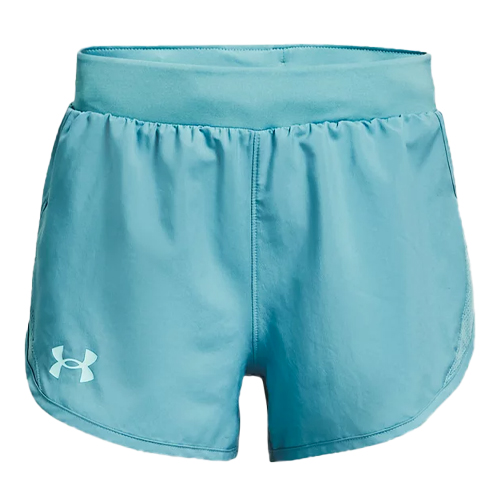 Girls' Fly By Shorts, Green Blue, Teal, swatch
