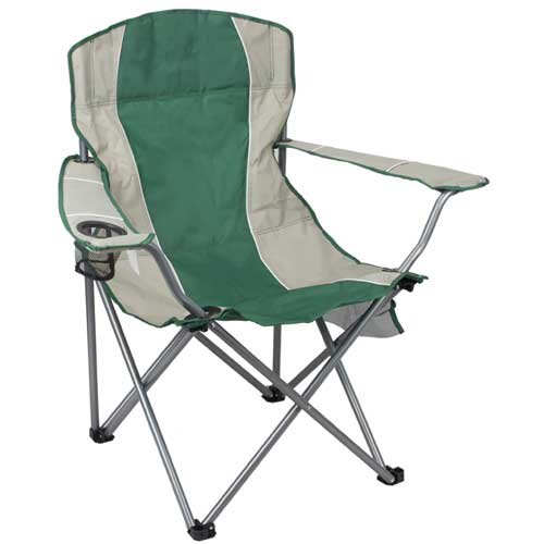Oversized Arm Chair, Green, swatch