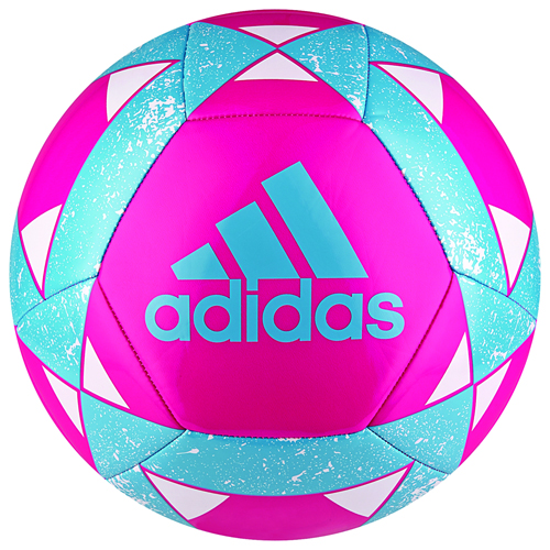 Starlancer V Soccer Ball, Neon Pink, swatch