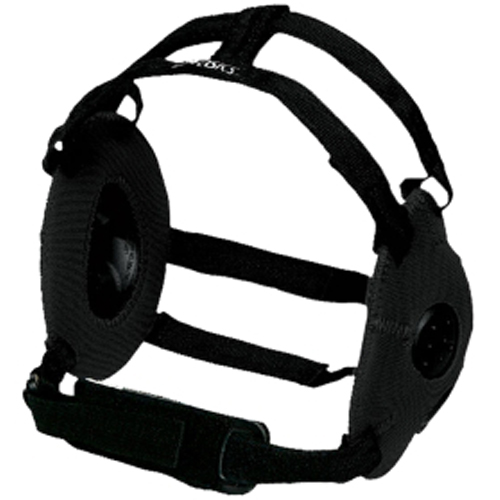 Gel Wrestling Headgear, Black, swatch