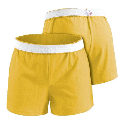 Women's Cheer Shorts, Gold, Yellow, swatch