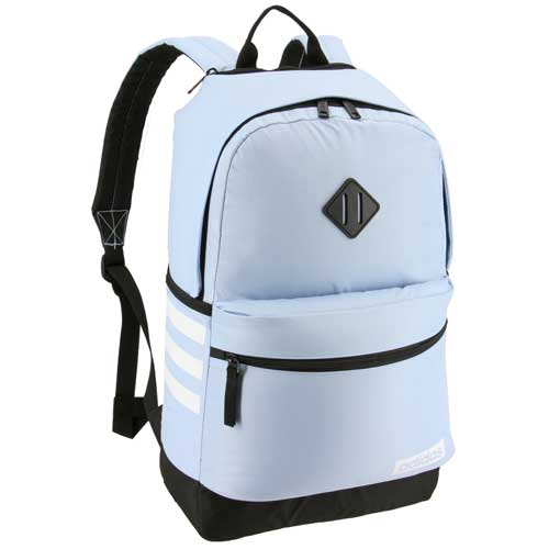 Classic 3 Stripe III Backpack, Lt Blue,Powder,Sky Blue, swatch